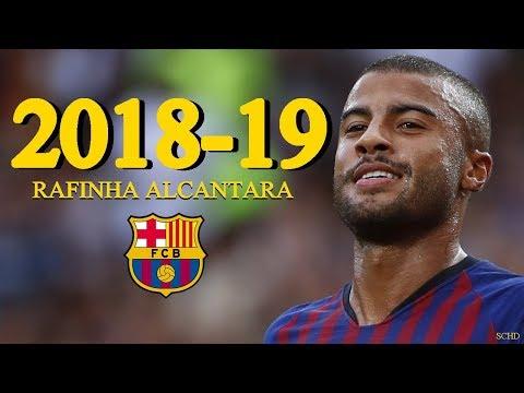 Rafinha Alcântara 2018/2019 - Barcelona - Goals, Skills, Assists | HD