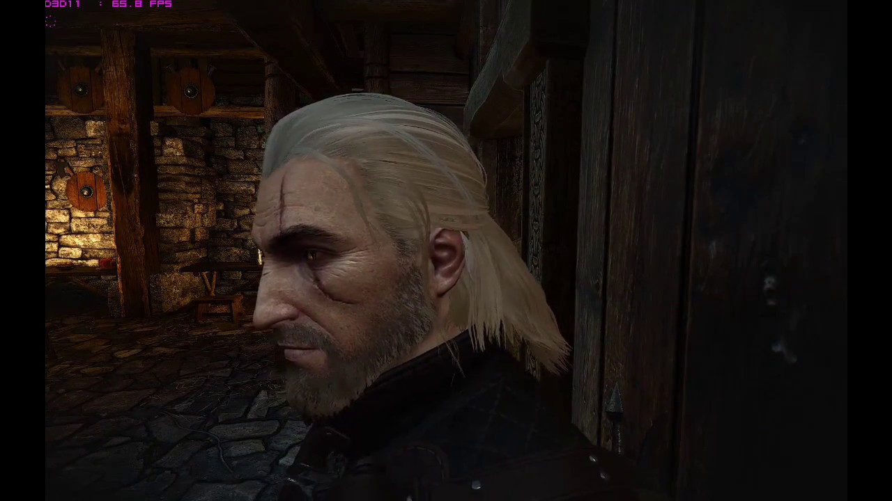 Witcher 3 Optimised HairWorks Mod