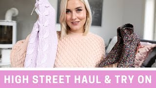 EARLY FALL HIGH STREET HAUL & TRY ON - ZARA, H&M, MANGO, MONKI I KAJA-MARIE