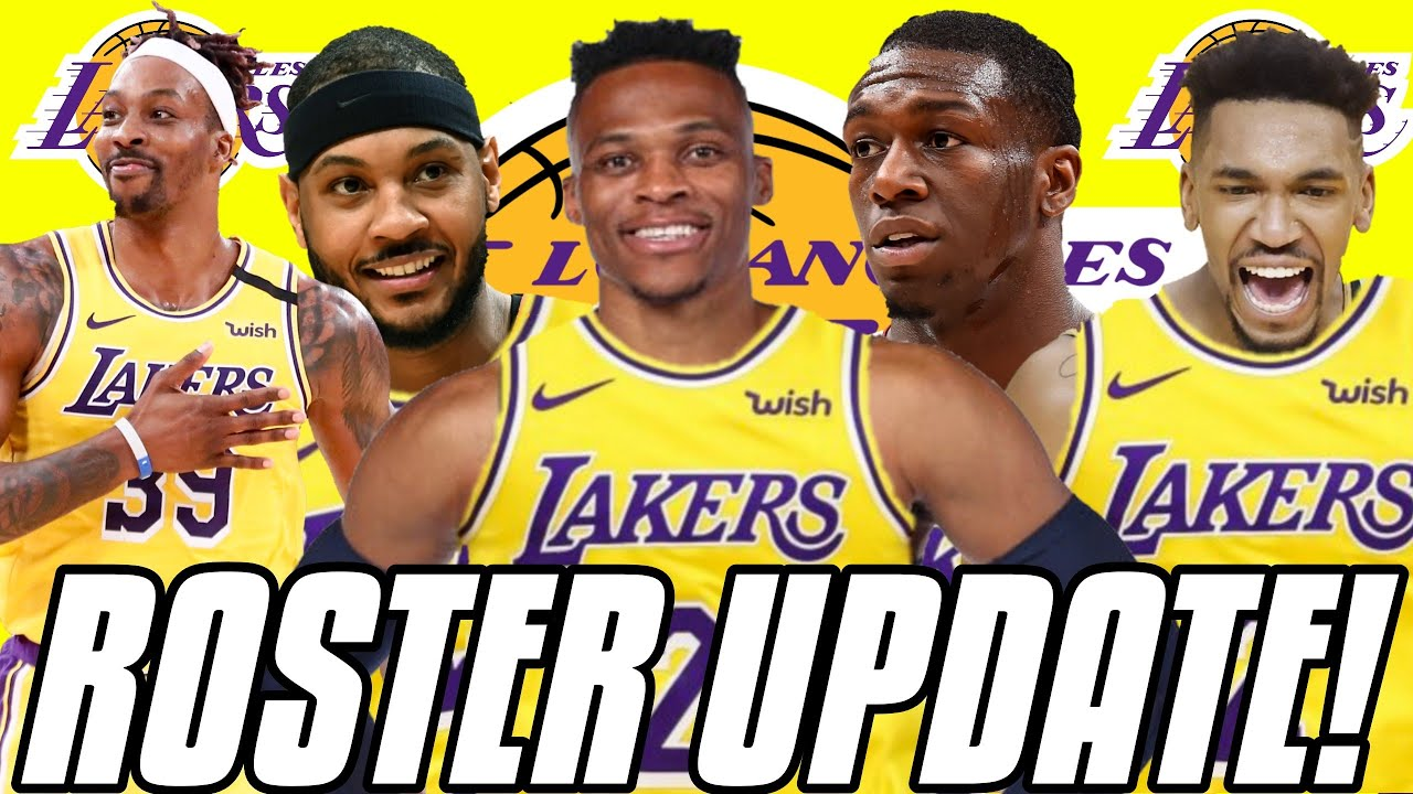 LAKERS ROSTER UPDATE AFTER FREE AGENCY SIGNINGS! Los Angeles Lakers 2021  Off-Season - YouTube