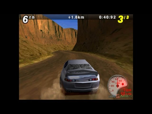 Max Power Racing - Gameplay PSX (PS One) HD 720P (Playstation classics)