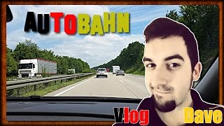 Life In Germany | Driving On The German Autobahn (+ Explaining Road Signs) | VlogDave