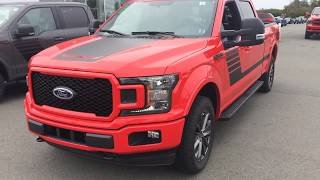 2018 Ford F 150 Special Edition 5 0L Lead Foot and Ecoboost Race Red,10 -Speed Automatic