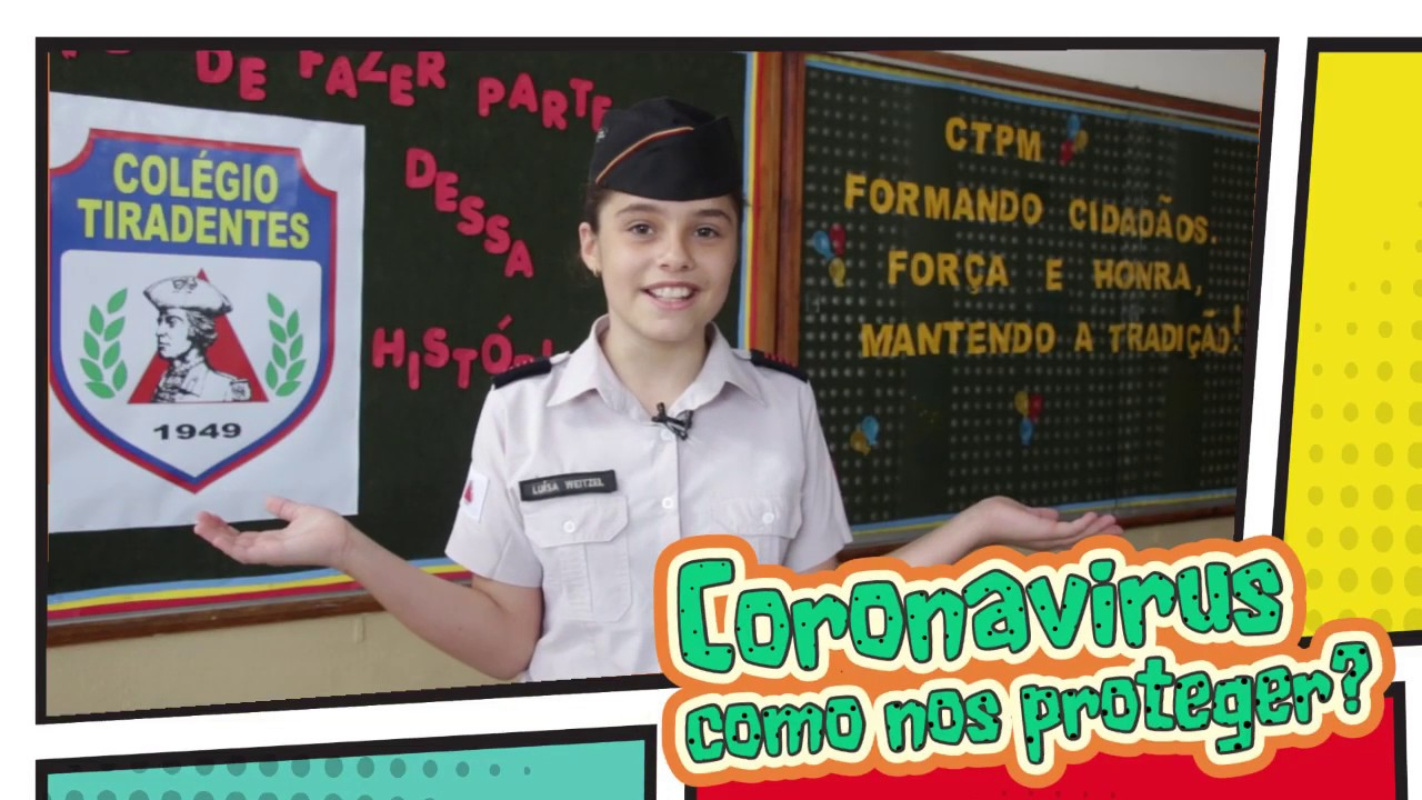 Recado dos alunos do CTPM sobre o Corona Virus