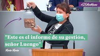 Intervención completa de María Marín sobre la situación del Mar Menor