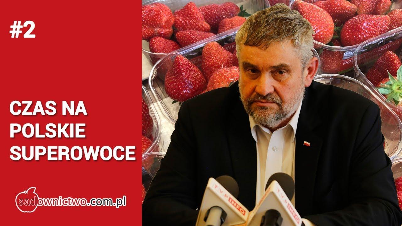 PEŁNA WYPOWIEDŹ - Minister Rolnictwa o sytuacji na rynku owoców