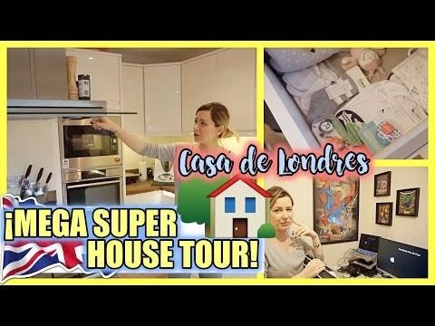 HOUSE TOUR | NUESTRA CASA DE LONDRES | ¡EL HOUSE TOUR MÁS COMPLETO!