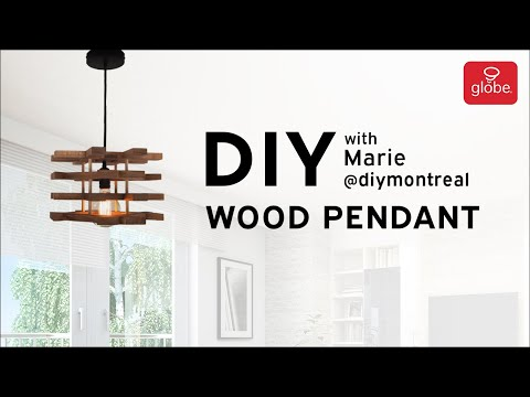 How to make a DIY Wood Pendant