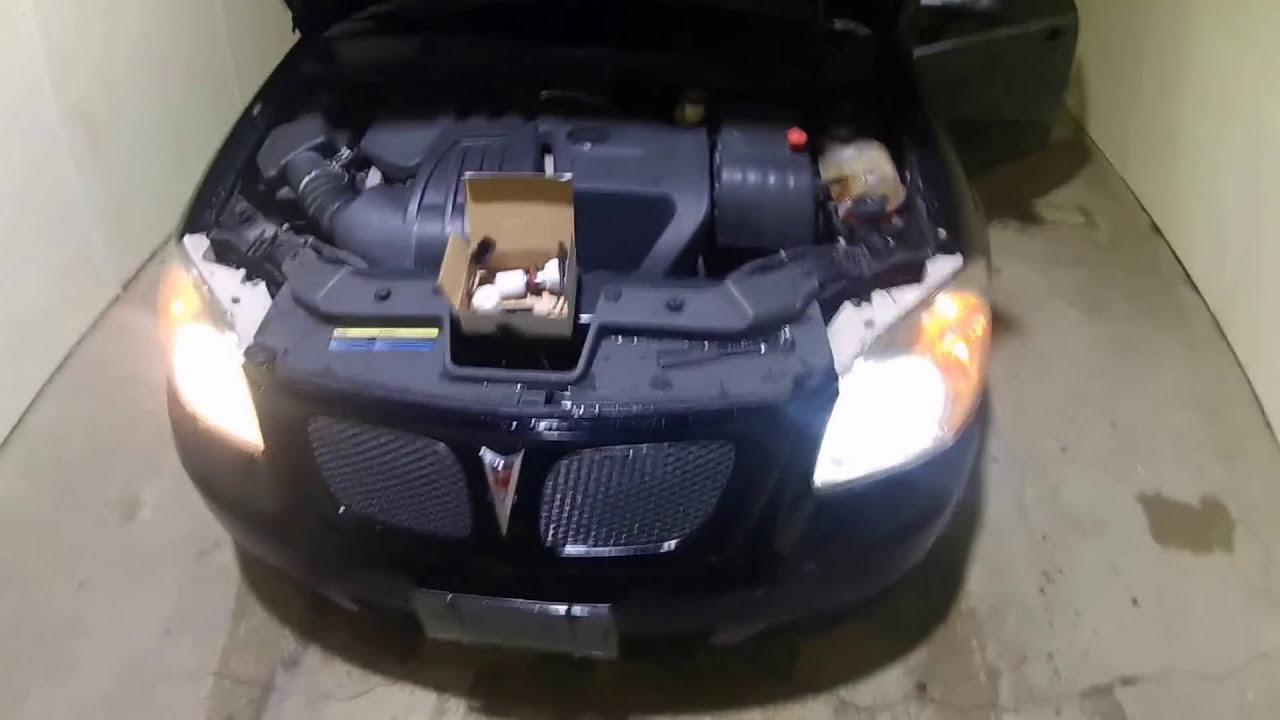 2007 Pontiac G5 Chevy Cobalt Led Headlight Installation