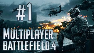 """Battlefield 4 - Multiplayer Gameplay (Part 1) """"Leading the Team"""""""