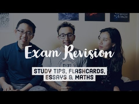 Last Minute Study Tips, Flashcards, Essays & Maths - Exam Re