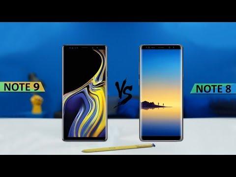 Samsung Galaxy Note 9 vs Galaxy Note 8