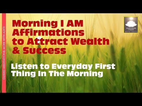 111+ Powerful Money Affirmations -Attract & Retain Wealth,Abundance &  Prosperity(Listen Everyday)