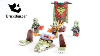 Kijk Lego Chima 70231 Crocodile Tribe Pack filmpje
