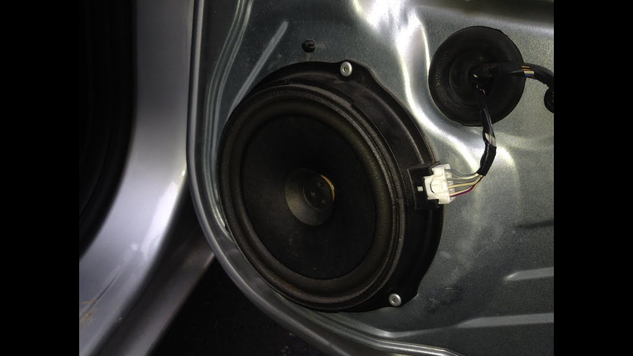 How to change speakers ford focus 2