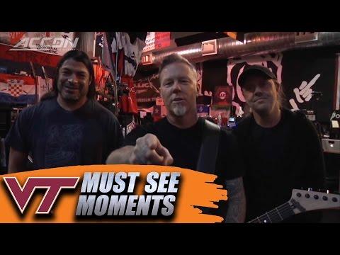 Metallica's Message to Virginia Tech Coach Frank Beamer