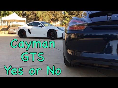 Cayman GTS or S
