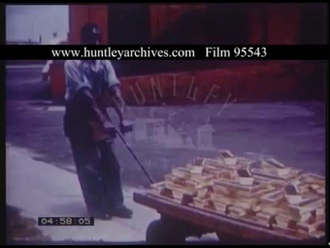 Johannesburg And South African Gold Mining, 1950s - Film 95543