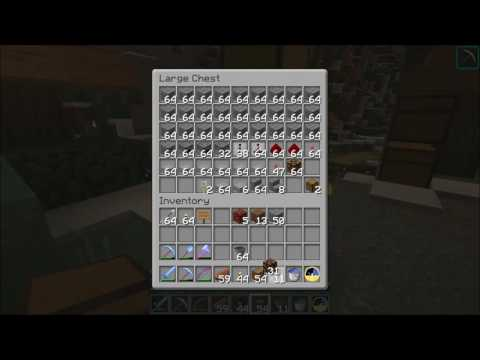 Minecraft Let's Play Episode 29 Starting the Storage Silo