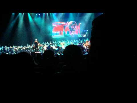 Charlie and the Chocolate Factory - Main Titles (Danny Elfman @ Nokia Theater 10/31/2014)