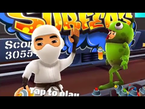 Subway Surfers Las Vegas VS Winter Holiday iPad Gameplay for Children HD #120