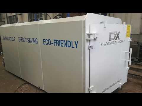 HF Vacuum wood drying kiln