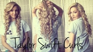 One of Alison Henry's most viewed videos: Voluminous Taylor Swift Curls ♡