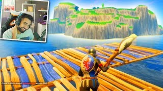 BUILDING TO SPAWN ISLAND in Fortnite: Battle Royale Challenge