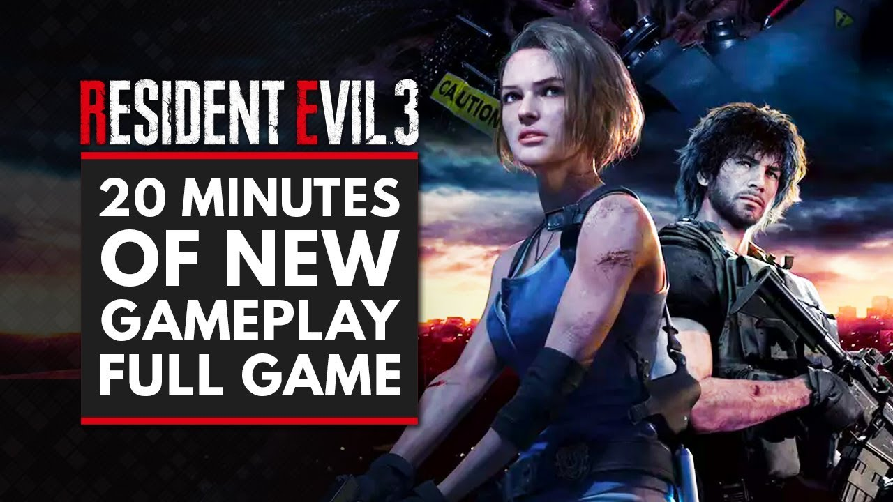 RESIDENT EVIL 3 REMAKE | 20 Minutes of New Gameplay - Full Game
