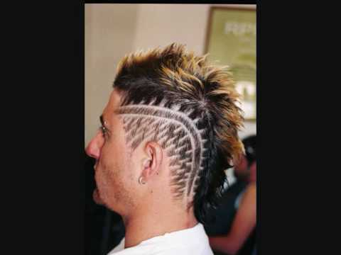 hair tattooing hair designs - YouTube