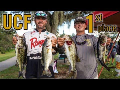We Won A Bass Tournament   UCF Fishing Team Fundraiser