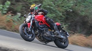 Ducati Monster 821 Review | Road Test | First Ride | ZEEGNITION