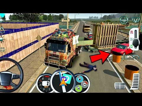 Euro Truck Driver 2018 #19 DANGEROUS RIDE!- New Truck Game Android gameplay