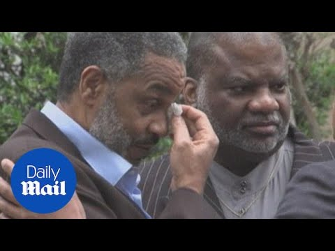 'The sun do shine' Free man Ray Hinton's emotional speech - Daily Mail