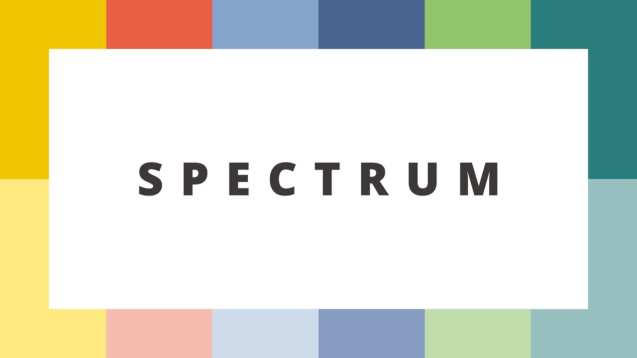 spectrum powerpoint template best powerpoint templates youtube
