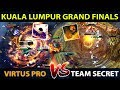 VP vs SECRET - ONE OF THE MOST EPIC GRAND FINALS IN 2018 - The Kuala Lumpur Major - Dota 2