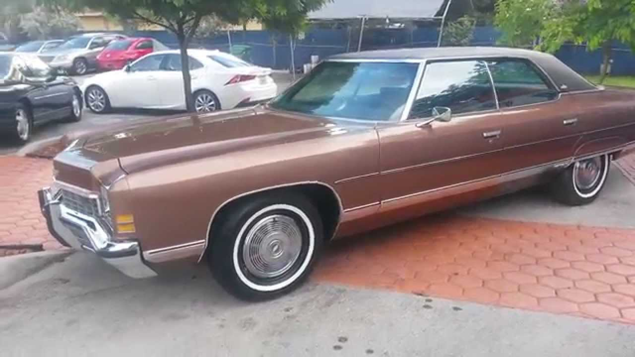 All Chevy 1971 chevrolet caprice for sale : 1972 Chevrolet Caprice@ Karconnectioninc.com Miami, FL - YouTube