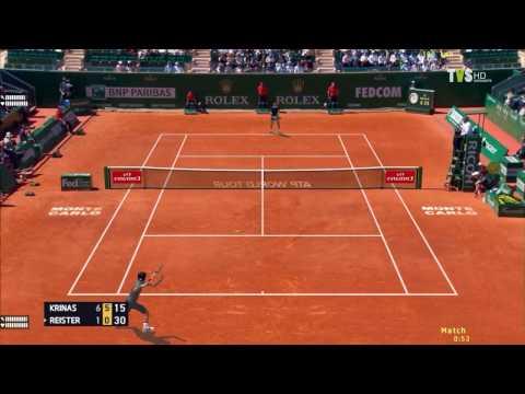TENNIS ELBOW 2013 ATP TOUR MONTE-CARLO ROLEX MASTERS 1st ROUND VS JULIAN REISTER