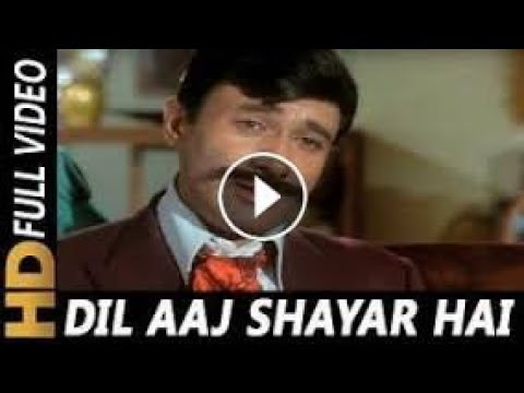 'Dil Aaj Shayar Hai' |  Kishore Kumar  |  Hindi Movie Gambler