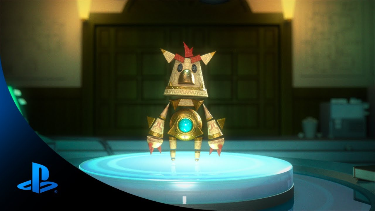 Defeat the goblin army with Knack