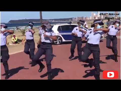 METRO POLICE DO THE JERUSALEMA DANCE CHALLENGE ⚫ JERUSALEM DANCE CHALLENGE 🔥 ⚫ IN SOUTH AFRICA 🇿🇦