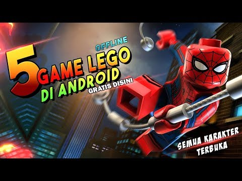 5 Game LEGO OFFLINE Android Terbaik | Dengan Semua Karakter Terbuka