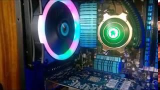 Тест системы охлаждения процессора GameMax Iceberg 120