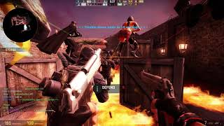 Counter-Strike Global Offensive: Zombie Escape - ze_Italy_Town_v3_e3 (Hard) on GamersUnited