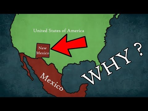 Why isn't New Mexico State part of Mexico ?