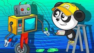 Роботы Трансформеры - Машинки Для Детей - Сборник Мультиков