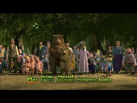 Download Shrek (2001) - DVD Menu