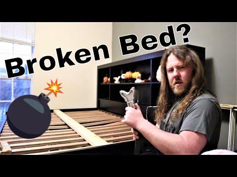 How I Fixed My Broken Bed Slats!!! // DRUNK REPAIRS