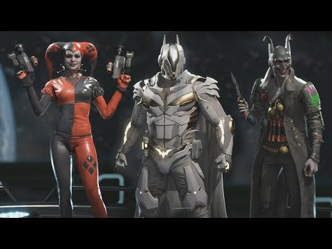 Injustice 2 - All Epic Gear Sets / All Character Epic Gear Sets (1080p 60FPS)