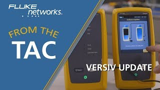 Updating Your Versiv™ over Wi-Fi by Fluke Networks